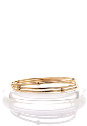 Lucite Assorted Bangle Set