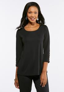 Button Trim Solid Top