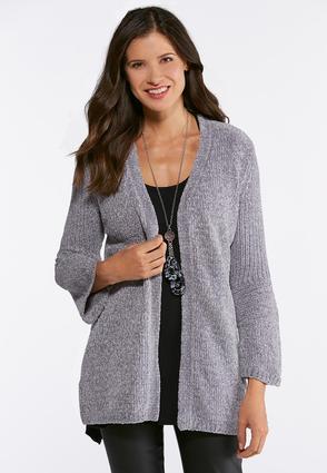 eb8c954c208ab Chenille Cardigan Sweater