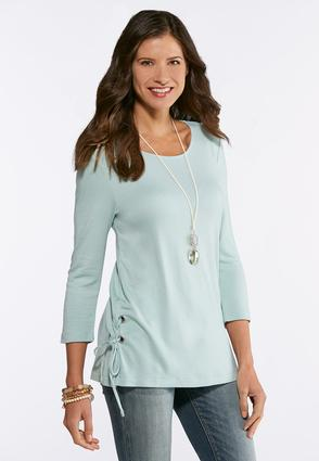Lace Up Ponte Tunic
