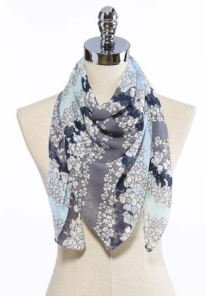 Floral Bloom Breezy Square Scarf