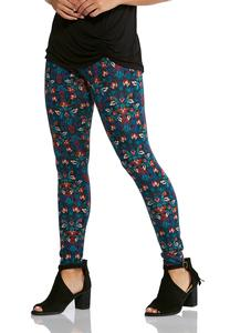 Mulberry Floral Leggings