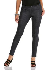 Plaid 5 Pocket Leggings