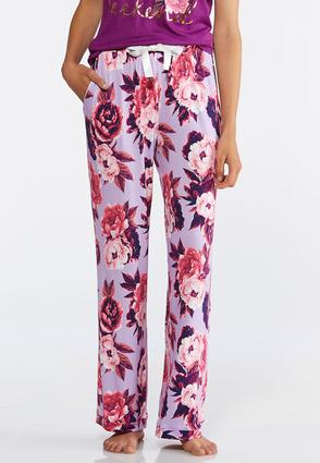 Floral Sleep Pants