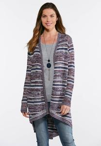 Tie Back Cardigan Sweater