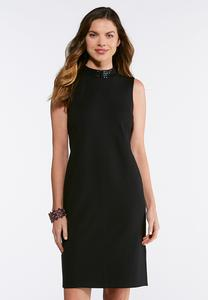Embellished Mock Sheath Dress