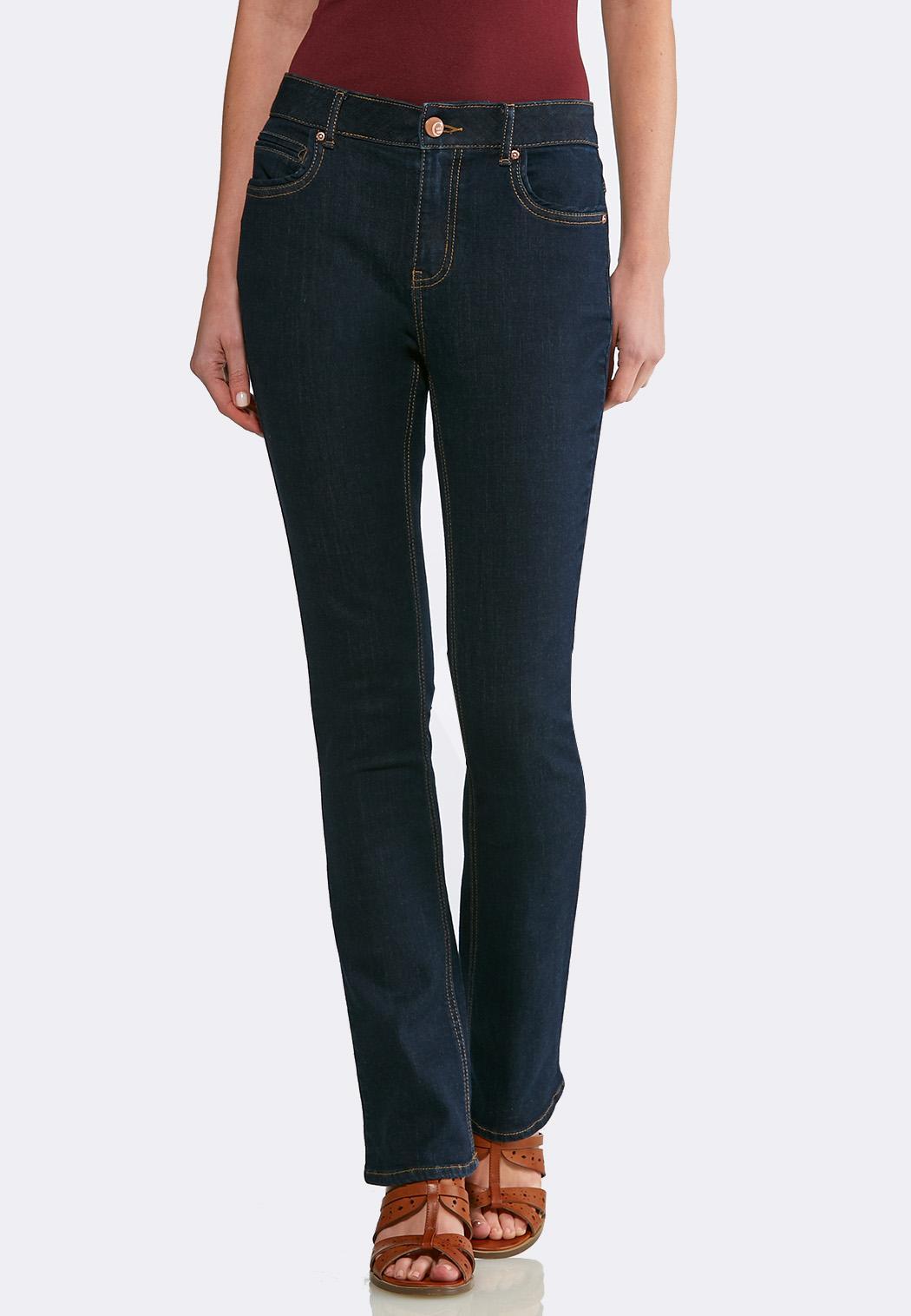 Dark Wash Bootcut Jeans