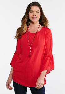 Lace Sleeve Poet Top