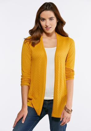 Textured Cardigan Sweater | Tuggl