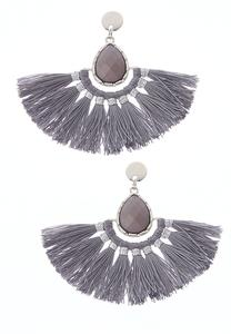 Frayed Tassel Earrings