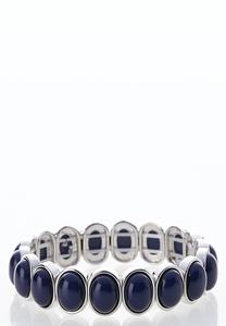 Oval Bead Stretch Bracelet