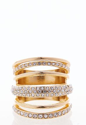 Layered Stone Ring