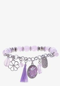 Infused Butterfly Charm Stretch Bracelet