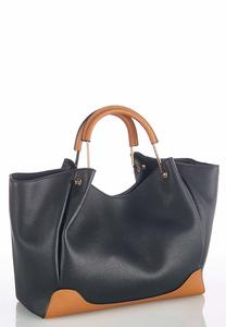 Oversized Cinched Hobo Handbag