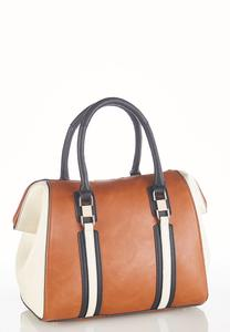 Colorblock Pinched Side Satchel