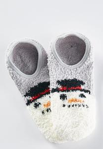 Snowman Ankle Socks
