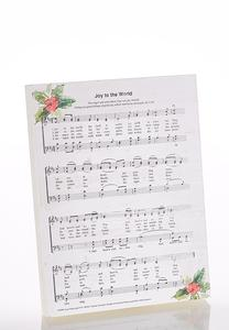 Holiday Hymn Plaque
