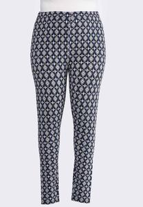 Plus Size Mod Diamond Leggings