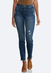 Distressed Shape Enhancing Jeans