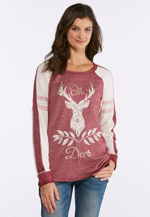 Plus Size Oh Deer Sweatshirt