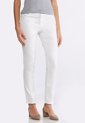 Uplifting White Jeggings