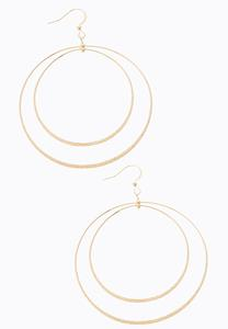 Delicate Layered Gold Hoops