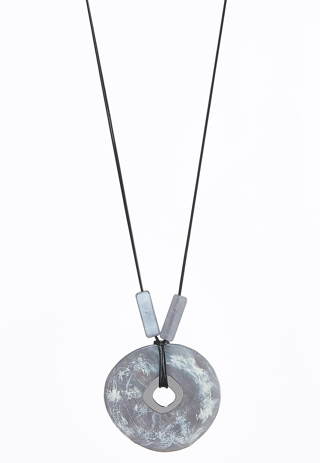 Corded Artisan Pendant Necklace