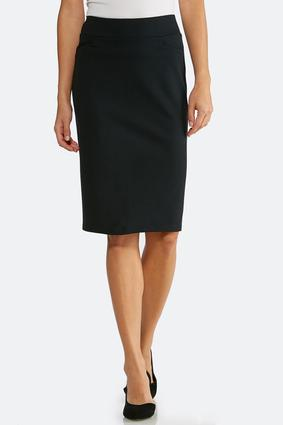 Essential Ponte Pencil Skirt