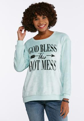 Bless This Hot Mess Sweatshirt