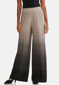 Ombre Dotted Palazzo Pants