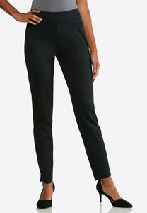 Slim Leg Pull-On Pants