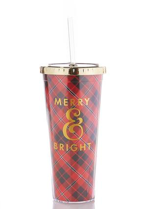 Merry Bright Tumbler Water Bottle