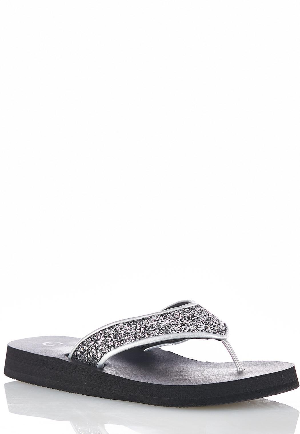 a39827cb9 Glitter Platform Flip Flops Flip Flops Cato Fashions