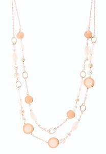 Pearl Blush Layered Necklace
