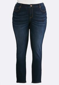 Plus Size Dark Denim Jeans