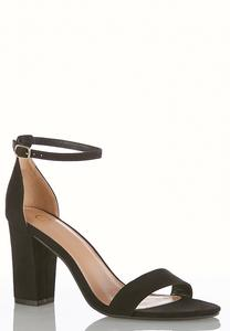 One Band Block Heeled Sandals