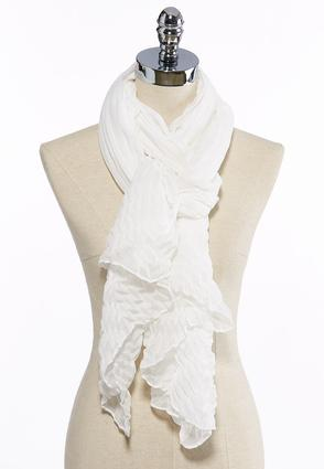 Mixed Texture Oblong Scarf