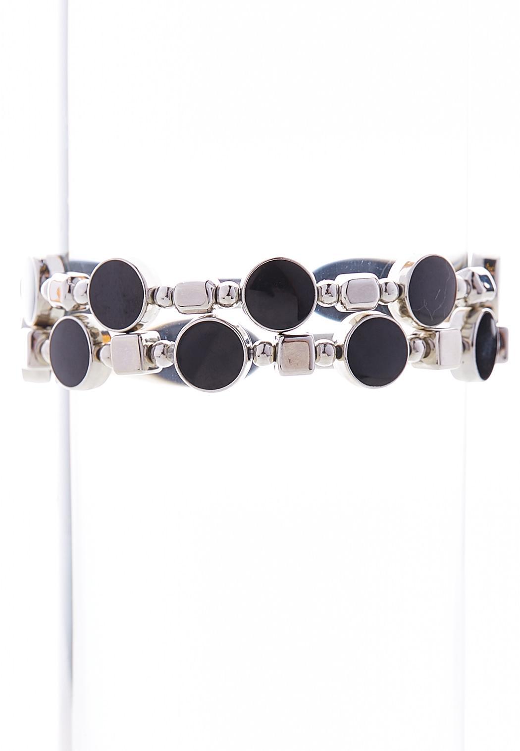 Enamel Stretch Bracelet