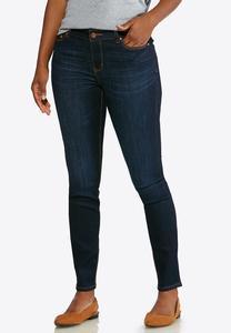 Petite Dark Denim Jeans