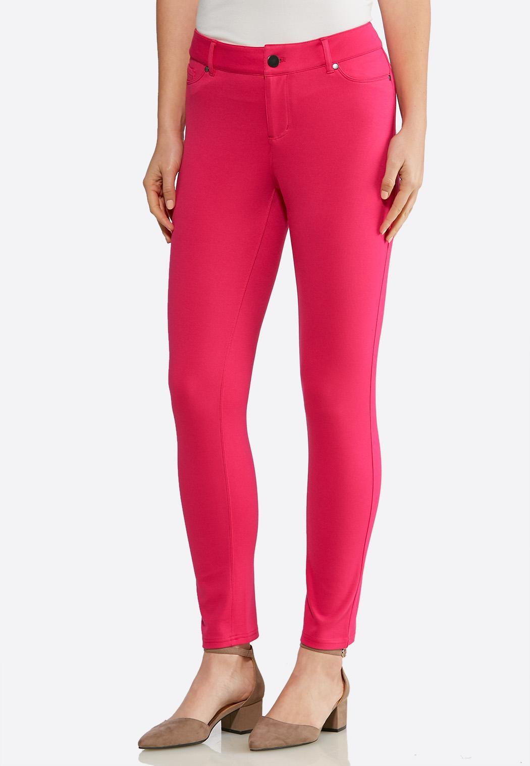 Essential Ponte Skinny Ankle Pants