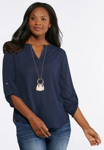 High-Low Solid Popover Top