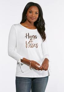 Hugs And Kisses Top