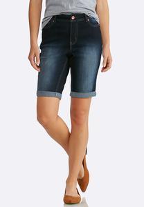 Shape Enhancing Denim Shorts