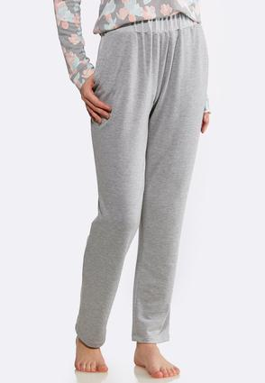 Gray French Terry Pants
