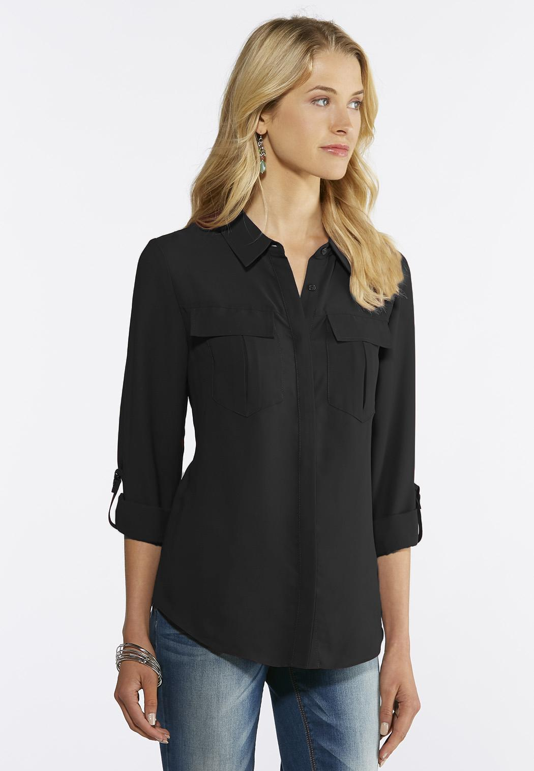 Button Down Boyfriend Shirt