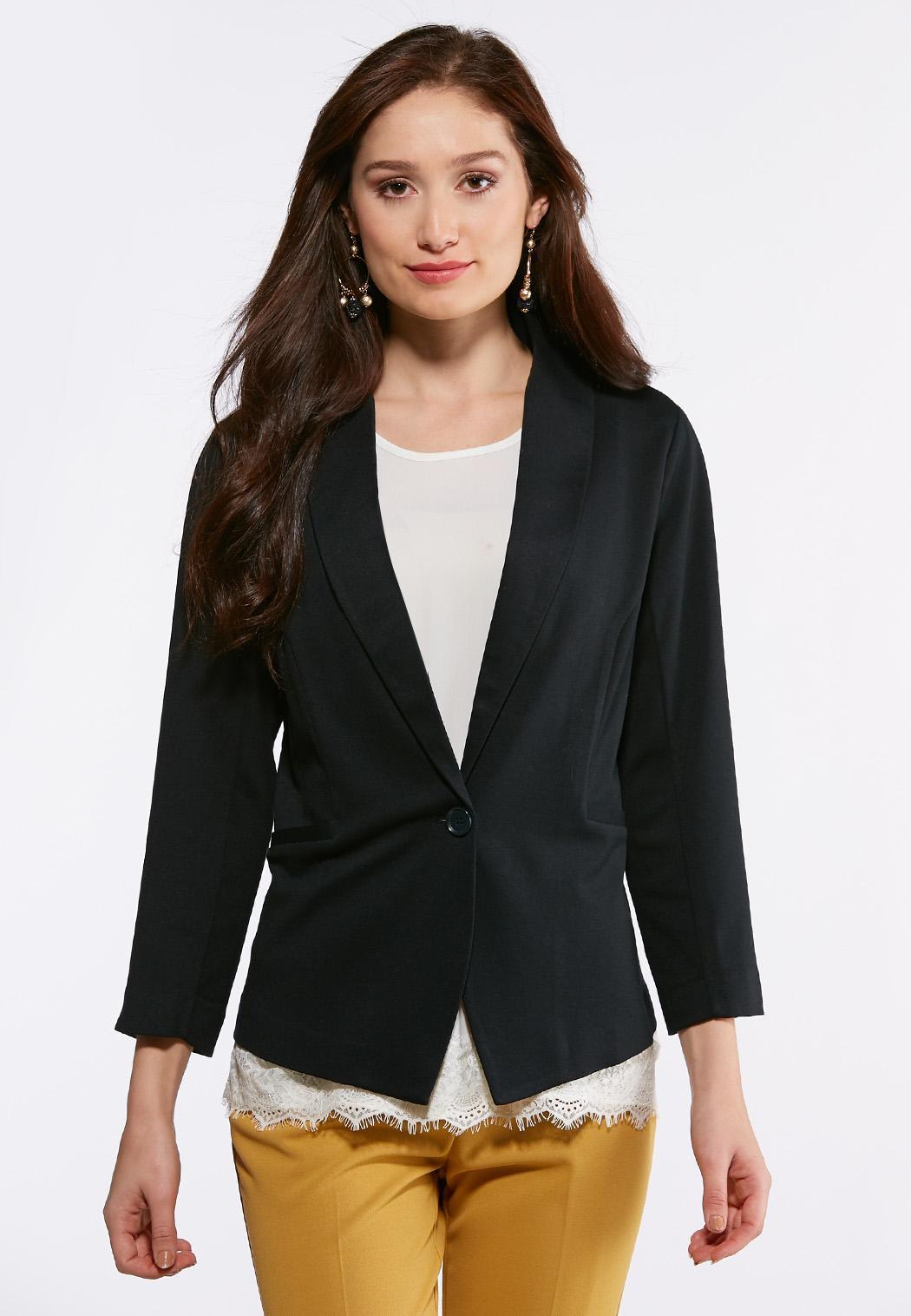 5fff1fadd7592 Women s Plus Size Fashion Jackets