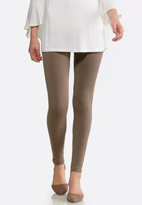 Extended Size The Perfect Taupe Leggings