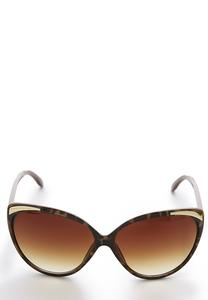 Burgundy Tortoise Sunglasses