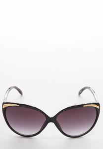 Leopard Inner Cateye Sunglasses