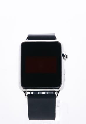 Silver Digital Watch